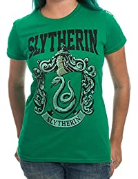 House Crest Slytherin Juniors T-shirt. Harry Potter