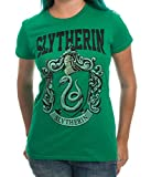 Harry Potter House Crest Slytherin Juniors T-shirt