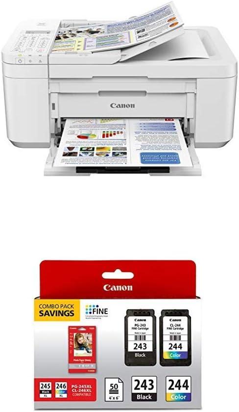 Amazon.com: Canon PIXMA TR4520 Impresora fotográfica ...