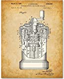 Curta Calculator - 11x14 Unframed Patent Print - Great Gift for Mathematicians and Computer Geeks