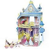 CubicFun Fairytale Castle Dollhouse 3D Puzzle Miniature DIY Kit,P809h 81 Pieces