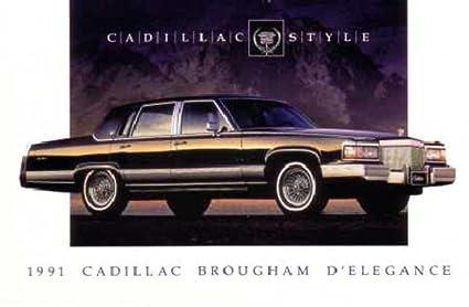 1991 Cadillac Brougham >> Amazon Com Bishko Automotive Literature 1991 Cadillac