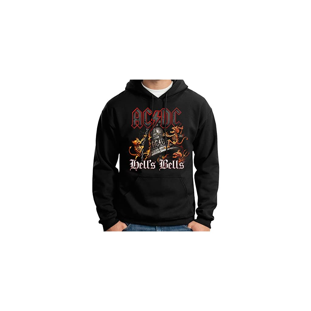 Sudadera Con Capucha – Acdc – Ac/Dc – Hells Bells – Hoodie