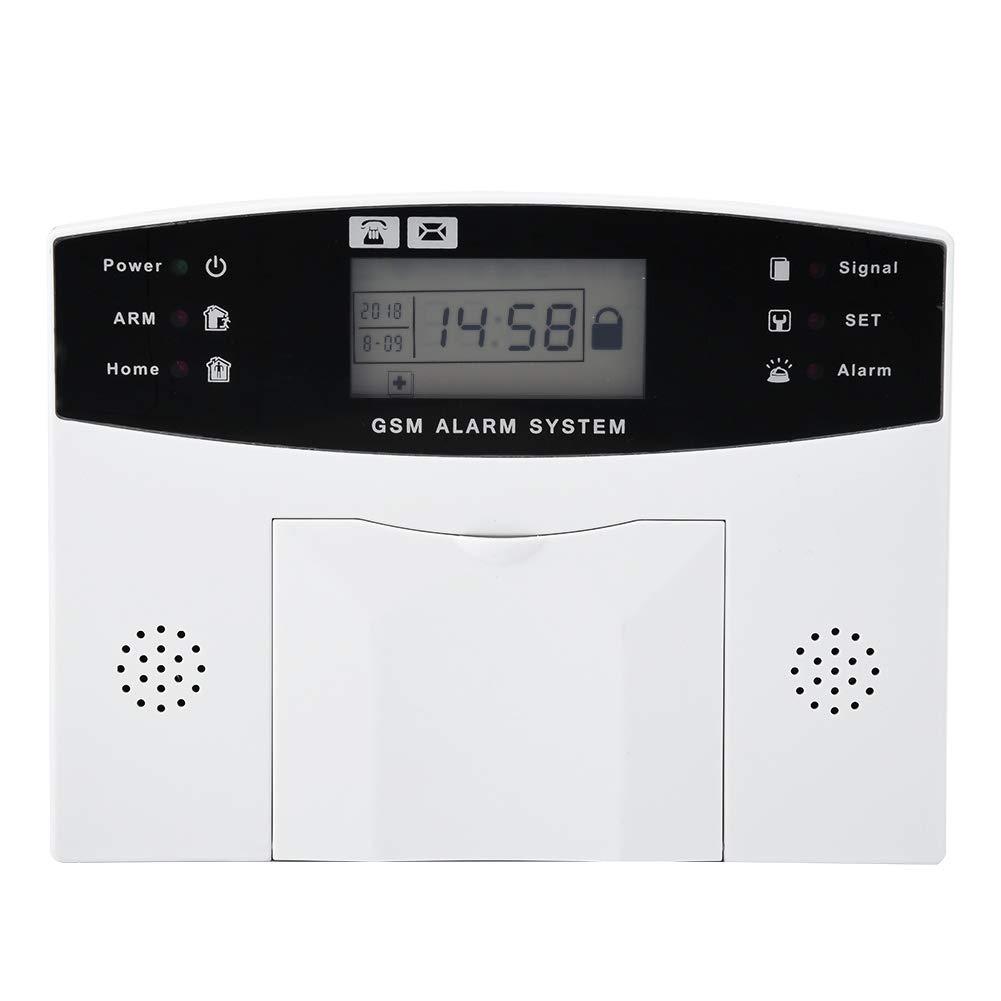 1.00V gsm Sistema de Alarma para Puerta de casa con Sistema de Seguridad antirrobo inal/ámbrico con detecci/ón de Movimiento de dial autom/ático y m/ás para una Seguridad Completa