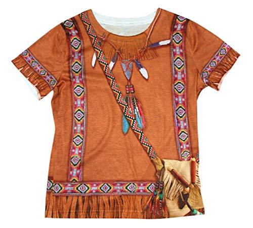 Child Native American Indian Princess T-Shirt Costume ()
