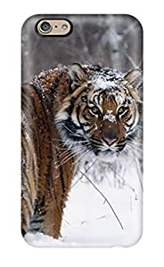 Alex D. Ulrich's Shop New Style 9930196K75258179 Premium Iphone 6 Case - Protective Skin - High Quality For Tiger On A Snow Field