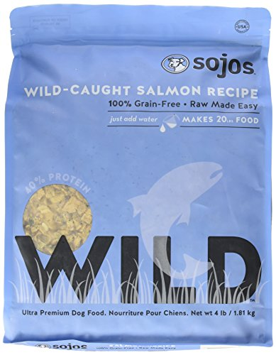 Sojos Wild-Caught Dog Food Salmon 4 lbs by Sojos Natural Pet Food