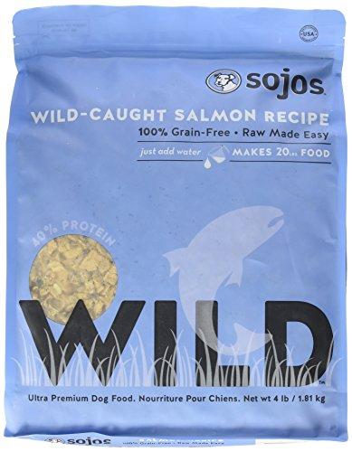Sojos Wild-Caught Dog Food Salmon 4 lbs by SOJOS
