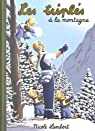 Les triplés à la montagne par Lambert