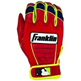 Franklin Sports MLB David Ortiz CFX Pro Signature Series Batting Gloves