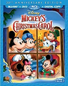 Mickey's Christmas Carol, 30th Anniversary  Edition (Blu-ray/DVD + Digital Copy)