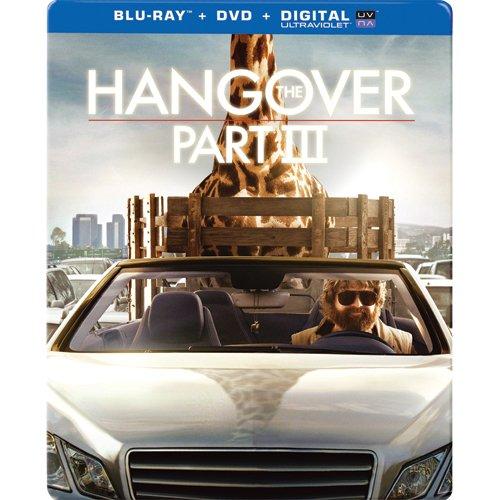 The Hangover: Part III Exclusive Steelbook [Blu-ray + DVD+ Ultraviolet. Futureshop] NEW
