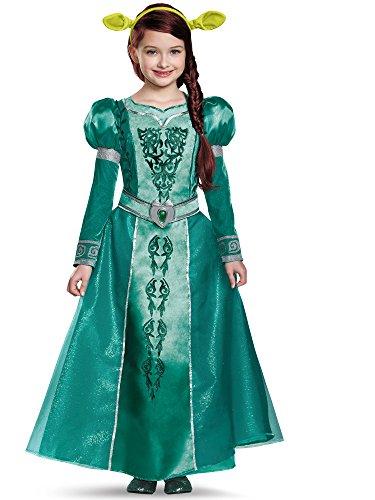 Fiona Deluxe Costume, Medium (7-8)]()