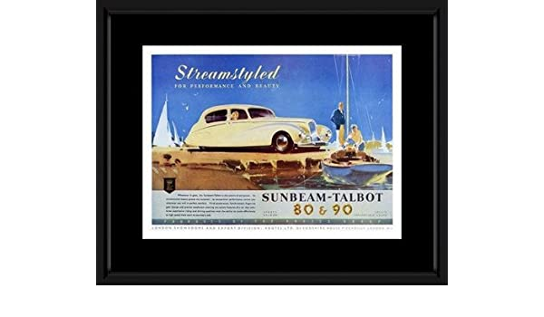 Amazon.com: Retro Car Prints: Sunbeam Talbot - Car ...