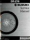 99500-40031-03E 2008-2009 Suzuki DR-Z70 Service Manual