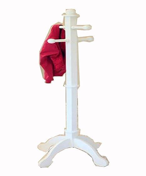 Amazon.com: S.T.L. Mini Coat Rack Kids Standing Room Hanger ...