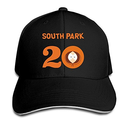 South Park Season 20 (kenny) Sandwich Visor Low Profile Pro Style Caps -