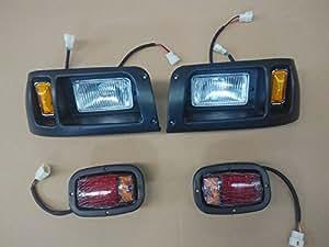 Amazon Com Club Car Ds Light Kit Headlight Amp Led