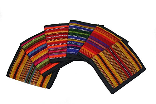 Authentic Guatemalan Bi-fold Wallet with Coin Pocket
