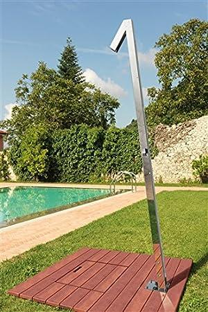 ducha exterior de acero inoxidable para el jardín Zenit Q70 ...
