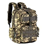 Protector Plus Children Tactical MOLLE Assault Backpack, School Casual Backpack For Children Only (30L, ACU Camouflage)