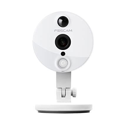 Foscam C2 HD 1080P WiFi Security IP Camera with iOS/Android App, Super Wide  120° Viewing Angle, Night Vision Up to 26ft, PIR Motion Detection, and