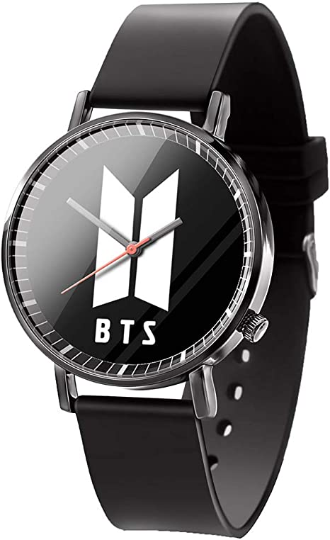 Amazon Com Hosston Kpop Bantan Boys Women Men Casual Watches Creative Fashion Wristwatch Unisex Student Clock Best Gift For Army Style 10 Health Personal Care