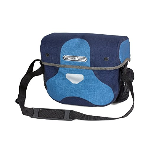 Ortlieb Ultimate 6 M Plus Medium Handlebar Bag DENIM-STEEL