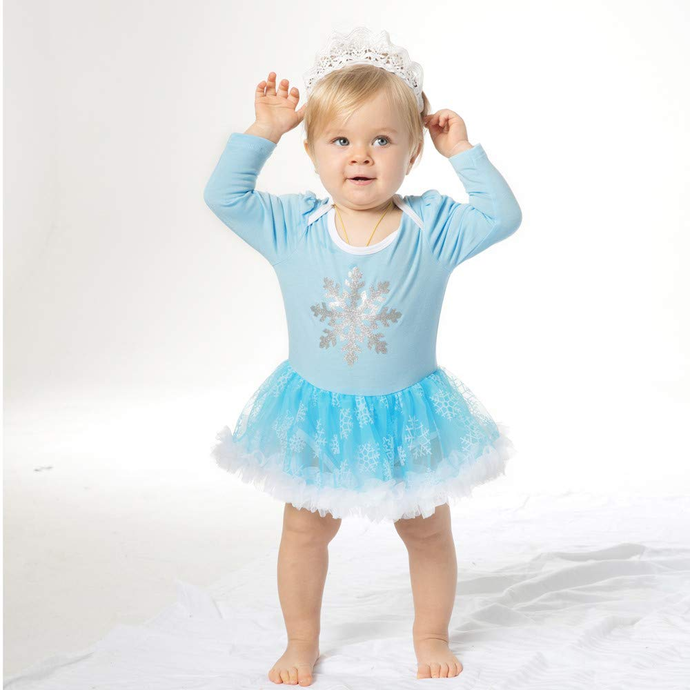 Homebaby Neonata Bambino Ragazze Costume di Natale Stampa Floreale Vestito  da Principessa + Fascia Vintage Mini Abiti Elegante Gonne Tutu Maglione  Regalo ... ec27cc2db14