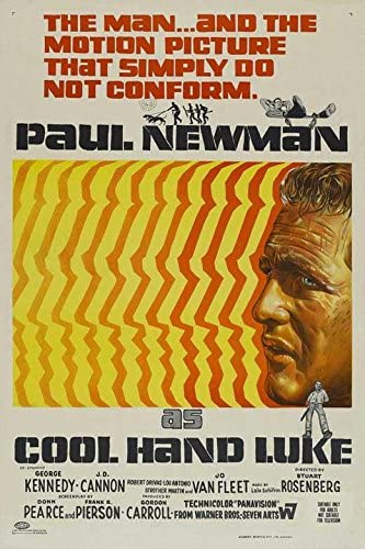 Amazon.com: Cool Hand Luke Movie POSTER 27 x 40, Paul Newman, George  Kennedy, AA, MADE IN THE U.S.A.: Posters & Prints
