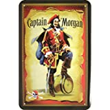 Captain Morgan Tin Sign Design by Drinks, Bier und Barmotive