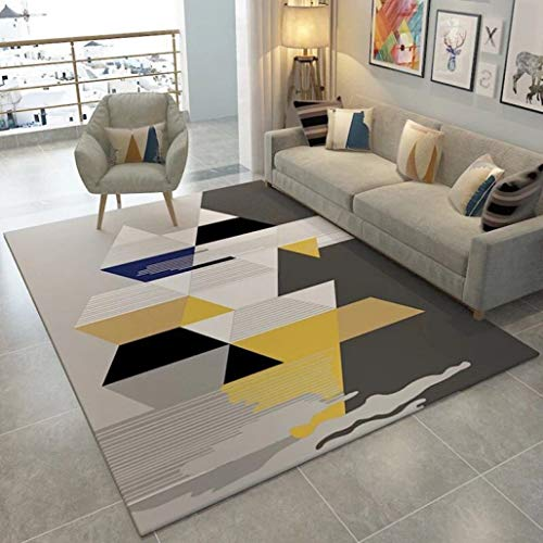Price comparison product image Nordic Style Geometric Large Carpet Living Room Bedroom Tea Table Rugs and Carpets Antiskid Door Floor Mats