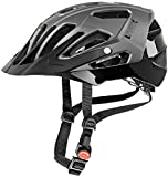 Uvex Quatro Mountain Bike Helmet Matte Dark Silver/Black S/M (52-57cm) Review
