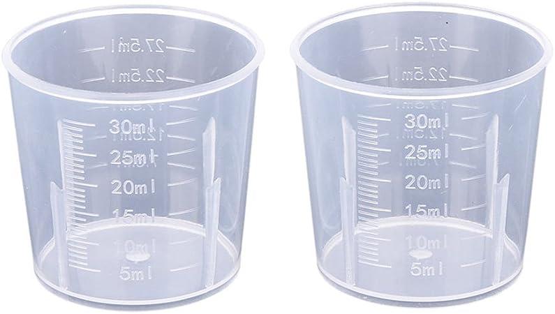 Sonline 500/ML MISURINO misurino con manico in plastica trasparente