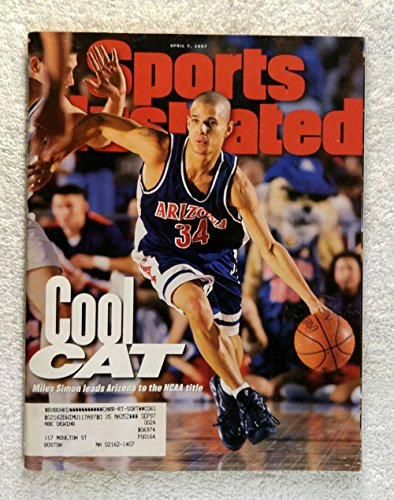 Miles Simon - Arizona Wildcats - 1997 NCAA Champions! - Sports Illustrated - April 7, 1997 - Kentucky Wildcats - College Basketball - SI