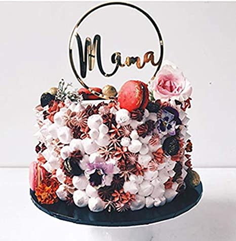 Amazon.com: Decoración para tartas de feliz día de la madre ...