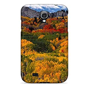 For Williams6541 Galaxy Protective Case, High Quality For Galaxy S4 Nature Seasons Autumn Colorful Autumn Skin Case Cover
