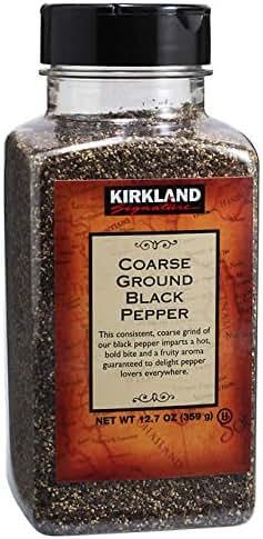 Herbs & Spices: Kirkland Signature Black Pepper