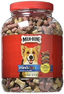 Milk Bone Mini 36 oz Flavor Snacks Dog Treats, One Size