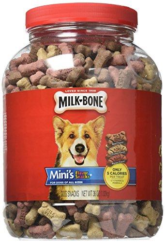 Milk Bone Mini 36 Oz Flavor Snacks Dog Treats, One ()