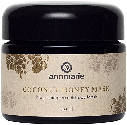 Annmarie Skin Care Coconut Honey Mask - Extra Virgin Coconut Oil Mask with Mountain Wildflower Honey (50ml / 1.7 fl ()