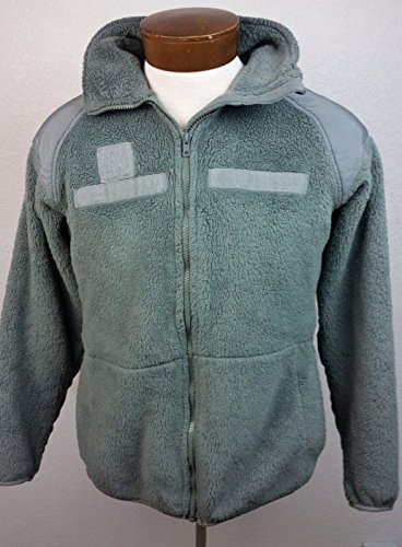 GEN III Polartec Fleece Jacket Foliage Green Genuine Issue (Medium Regular) ...