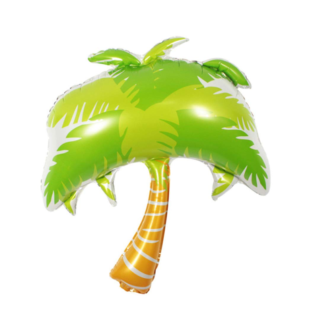 1pc Giant Coconut Tree Foil Balloons Wedding Party Bar Theme Summer Party Decoration Palm Leaf Balloons Helium Inflatable Ball Toy