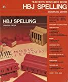 HBJ Spelling: Teacher's Resource Book, Grade 4, Signature Edition (Orange 4), HBJ, 0153270969