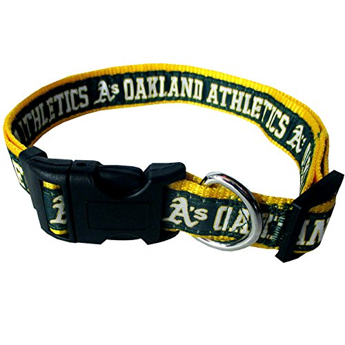 MLB OAKLAND ATHLETICS Dog Collar, Medium