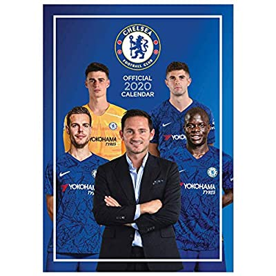 Official Chelsea FC (Premier League) 2020 Soccer Calendar (A3)