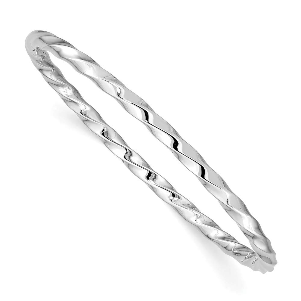Jewelry Pilot Sterling Silver Just Like Mommy Pol Twisted Slip-on Childs Bangle