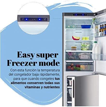 Universal Blue - Frigorífico Combi No Frost Blanco: Amazon.es ...