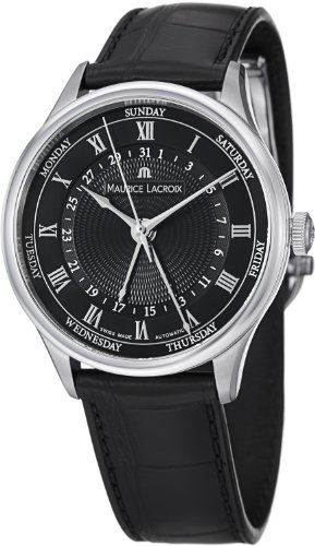 Maurice Lacroix Masterpiece Tradition Five Hands Men's Day Date Automatic Watch MP6507-SS001-310