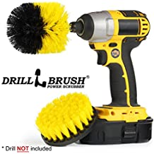 Drillbrush New Quick Change Drill Attachment Cleaning Brush Set